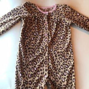 Carter's Button-Up Pajamas